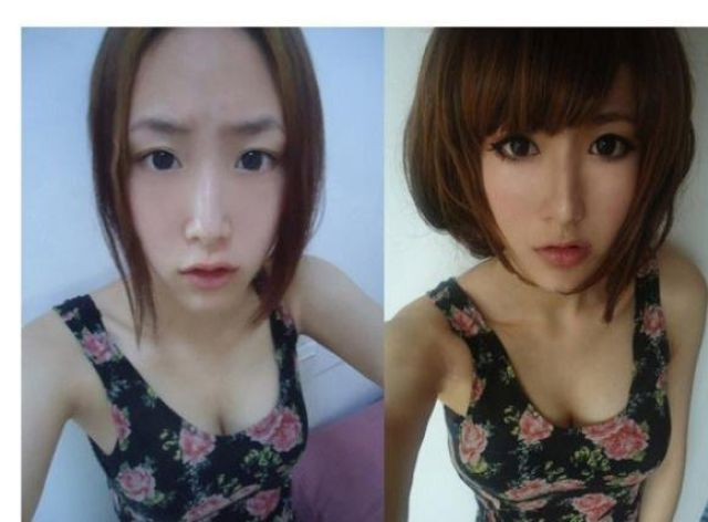 Chinese Girls and the Art of Make-up (34 pics)