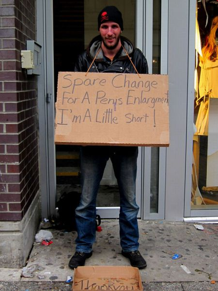How To Get Easy Money >> Homeless Signs with a Sense of Humor (51 pics) - Izismile.com