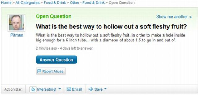 The Best from Yahoo Answers. Part 2 (45 pics)