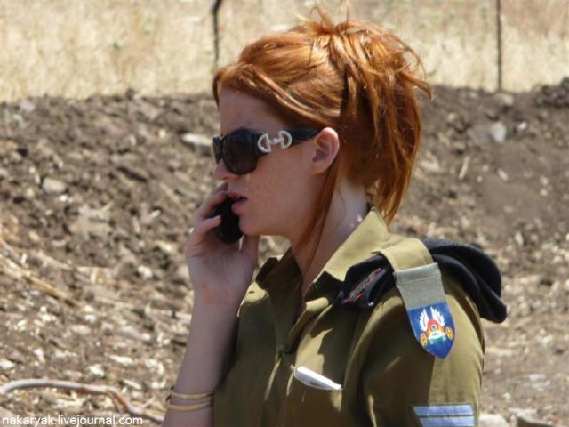 Girls in the Israel Defense Forces (53 pics)