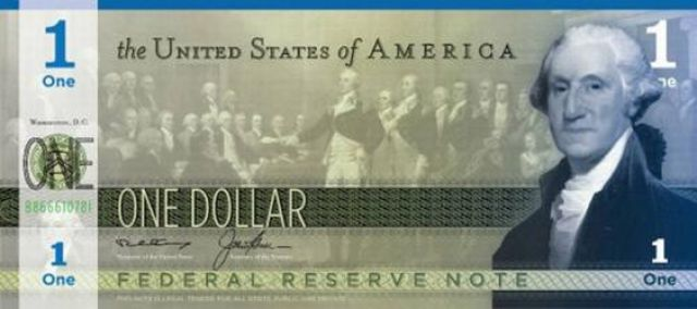 What Will The New Dollar Look Like?
