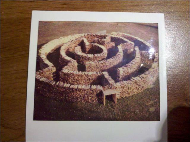 Amazing Handmade Maze Outdoor